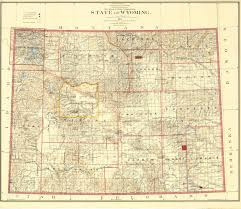 Wy Map Wyoming Places Weston County