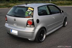 volkswagen polo white modified turbo cricket from germany