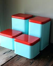retro kitchen canisters fashionable canister set for kitchen kitchen canisters