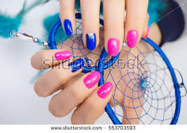 natural nails amazing clean manicure gel stock photo 622852661