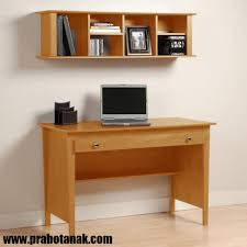 Oak Computer Desk With Hutch by Meja Belajar Rak Gantung Mba 002 Meja Belajar Anak Pinterest