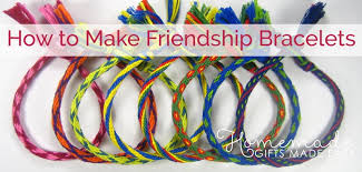 6 Diy Ways To Make by How To Make Friendship Bracelets In 7 Easy Steps