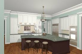 rustic curved kitchen island curved kitchen island design