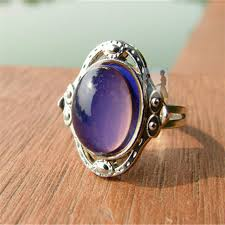 aliexpress mood rings images New men 39 s summer fashion jewelry moon shape color change mood ring jpg