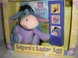 winnie the pooh easter eggs eeyores easter egg playasound book and cuddly easter eeyore winnie