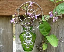 Wall Mounted Glass Flower Vases Wall Mounted Glass Flower Vases Home Design Ideas
