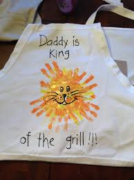 15 super fun fathers day crafts for kids to make apron lions