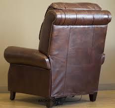 barcalounger churchill ii recliner chair leather recliner chair