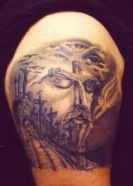 Jesus Cross Tattoos On - work pin jesus cross designs tattoos picture to