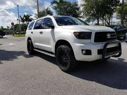 Cars For Sale In Port Saint Lucie Used Toyota Sequoia For Sale In Port Saint Lucie Fl Edmunds