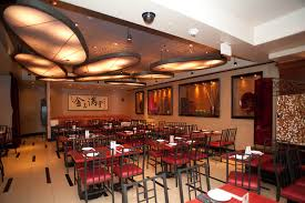 elegant contemporary decor asian restaurant interior design of