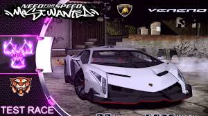 Lamborghini Veneno Lp750 4 - lamborghini veneno lp750 4 nfs most wanted 2005 mod test race