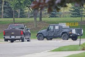jeep truck spy photos spy shots of 2018 jeep wrangler jl show new led taillight pattern