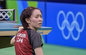 table tennis games tournament ishikawa upset in first round of olympic table tennis tournament