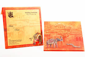 wedding cards in india indian wedding invitation with images of a royal palace wedding