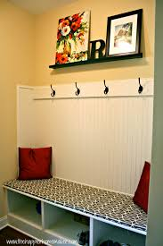 How To Make A Window Bench Seat Cushion Fast No Sew Bench Cushion The Happier Homemaker