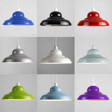 Bedroom Light Shades Uk Vintage Retro Embossed Metal Ceiling Pendant Light L Shades
