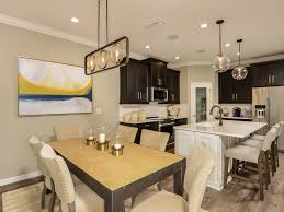 Union Park Dining Room by Miramar Floor Plan In Union Park Calatlantic Homes