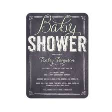 traditional baby shower invites with a modern twist fit