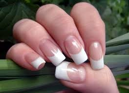 creative with french manicure nail art designs
