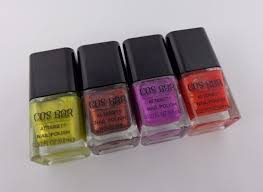 swatch u0026 review cos bar limited edition nail polish from the