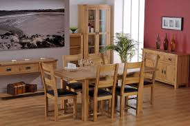 White Oak Dining Room Set - happy home furnishers cabos oak dining room furniture