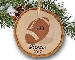 football ornaments etsy