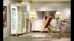 classic luxury dining room furniture decoration youtube