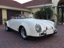 sold 1957 porsche 356 speedster widebody replica for sale by