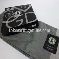 Sarung Gajah Duduk sarung gajah duduk black and white 02