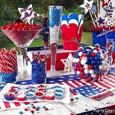 Candy Party Table Decorations 94 Best Fourth Of July Party And Candy Buffet Ideas Images On