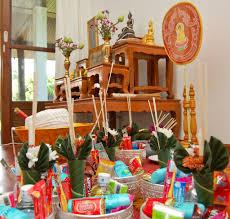 gifts for housewarming thai housewarming ceremony u2013 monks family friends u0026 food
