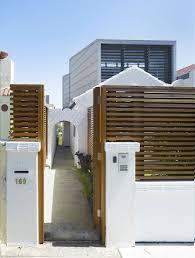 Modern House Gates And Fences Simple Home Fences Designs Home