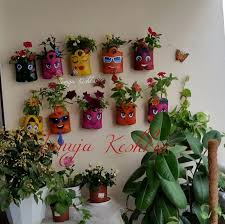 Balcony Garden by How To Make Smiley Hanging Pot For Blooming Balcony Garden
