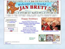 jan brett s home page great websites for