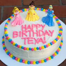 cake for birthday princess birthday cake with sprinkles on top