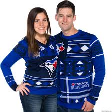 blue jays ugly christmas sweaters are here