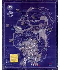 San Andreas Map Map Gta V Paradise