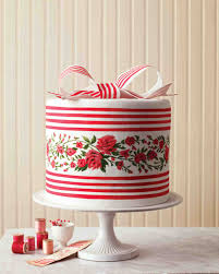 5 layered red velvet cake