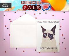 grumpy cat birthday card cards pinterest cards