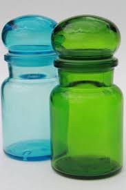 glass kitchen canisters airtight colored glass bottles vintage kitchen canisters airtight seal
