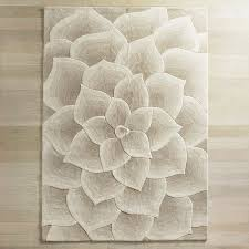 Sculptured Rugs And Carpets Rose Tufted Ivory Rug Pier 1 Imports