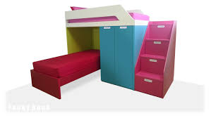 Corner Bunk Bed LShaped Bunk Bed - Funky bunk beds uk