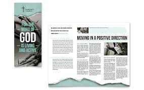 religious u0026 organizations brochures u0026 flyers templates word