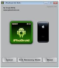 run android on iphone how to install android on iphone 3g using iphodroid 1shot r13 for