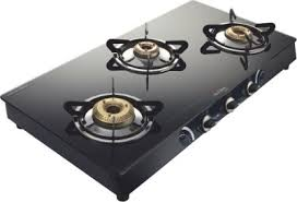 3 Burner Glass Cooktop Preethi Blu Flame Sparkle Glass Manual Gas Stove Review