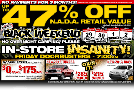 car sales black friday wichita toyota black friday specials new vehicle discount deals
