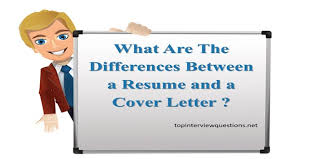 What Is The Difference Between Resume And Cv What Is Difference Between A Resume And A Cover Letter