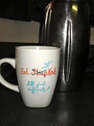 coffee mug ideas diy coffee mug wool and chocolate