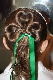 Stylish Hairstyles For Girls by 10 Days Of Green Three Leaf Clover Twists Hairstyle Saints